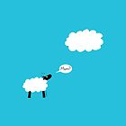 Sheep Cloud by Hannah Sterry