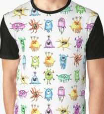 Little Watercolor Monsters Graphic T-Shirt