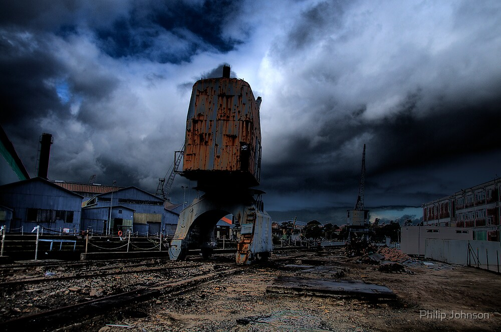 Darkness - Memories of Days Gone By - Cockatoo Island - the HDR Series by Philip Johnson