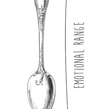 Emotional Range of a Teaspoon by daniellekenedy