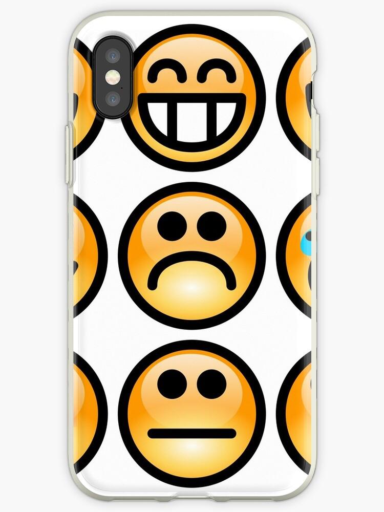 'Emoji Emoticon' iPhone Case by edleon