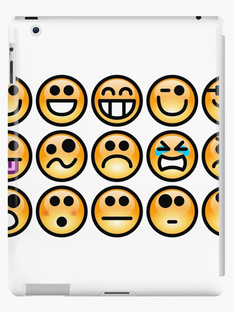 Emoji Emoticon Ipad Cases Skins By Edleon Redbubble