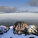 Winter landscape (III) by CatchyLittleArt