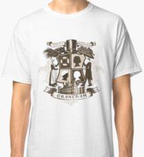 Grantham coat of arms (sepia) Classic T-Shirt