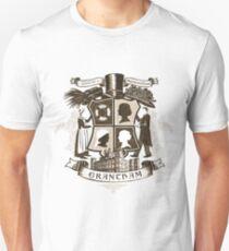 Grantham coat of arms (sepia) Unisex T-Shirt