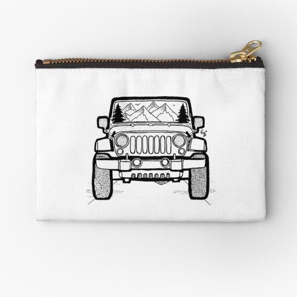 Jeep Adventure Zipper Pouch