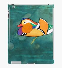 Mandarin Duck (Aix galericulata) iPad Case/Skin