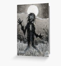 I, Zombie Greeting Card