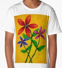 FLOWER POWER Long T-Shirt