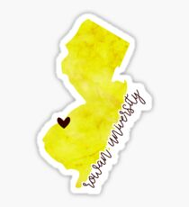 Rowan University Sticker