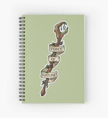 D&D - Druid - Force Of Nature Spiral Notebook