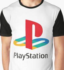 Playstation Logo Graphic T-Shirt