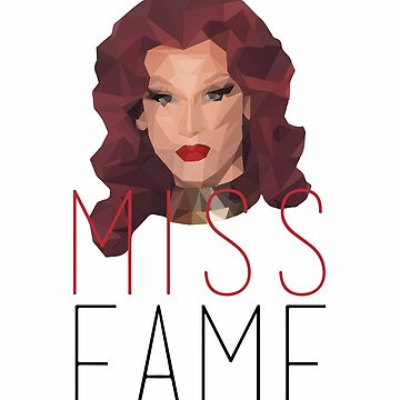 Geometric Miss Fame by ahsonline