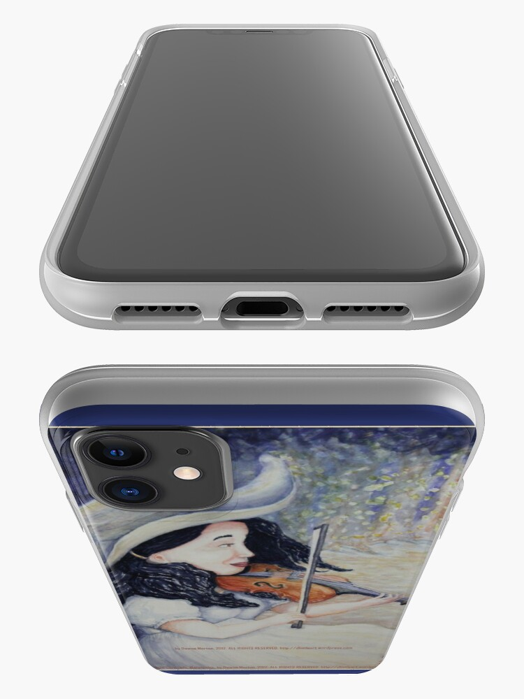 Alternate view of Woman's Autumnal Twilight Serenade iPhone Case & Cover