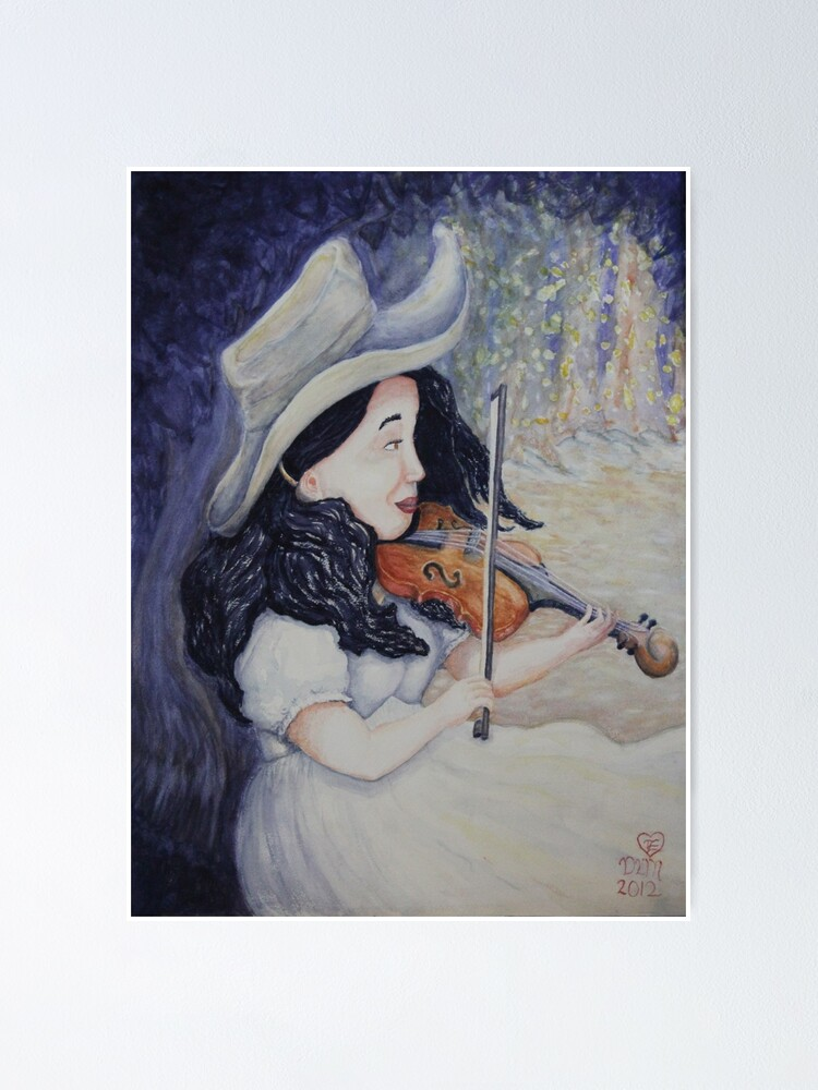 Alternate view of Woman's Autumnal Twilight Serenade Poster