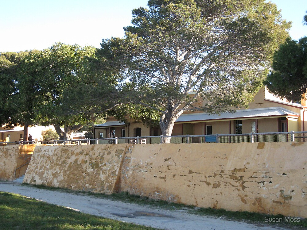 Old cottages Rottnest Island by Susan Moss