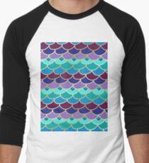 Gorgeous Mermaid Scales Men's Baseball ¾ T-Shirt