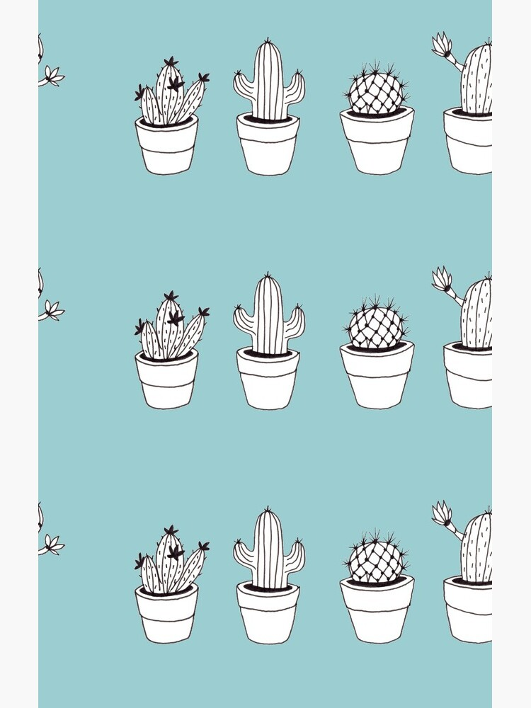 Cacti illustration - minimalist by mirunasfia
