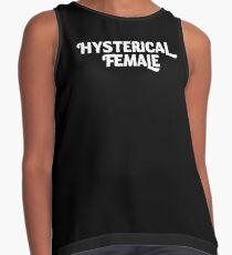 Hysterical Female, Feminist, Feminism, Girl Power Contrast Tank