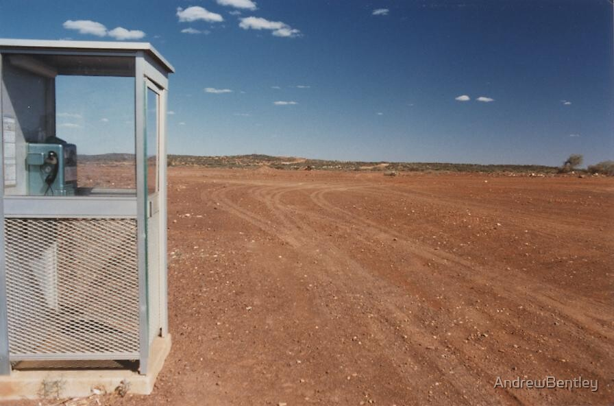 Phone home. Peak Hill WA 1988 by AndrewBentley