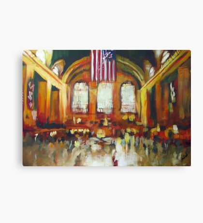 Grand Central Train Station New York City NYC Canvas Print