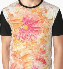 Gerbera Daisies Graphic T-Shirt