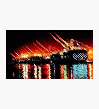 Harbor Lights Photographic Print