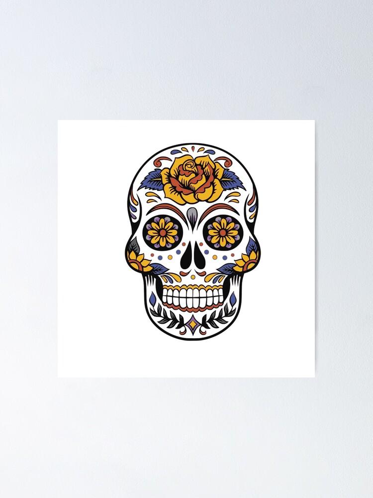 Sugar Skull Or Skulls Print