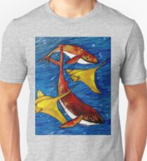 whales and friends T-Shirt