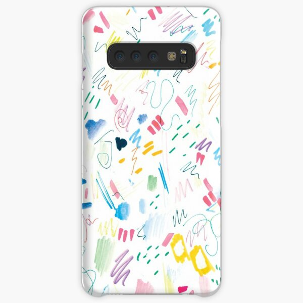 Colourful Messy Swatch Pattern Samsung Galaxy Snap Case