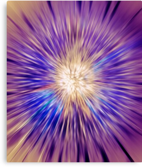 Abstract colorful energy glow art photo print by ArtNudePhotos
