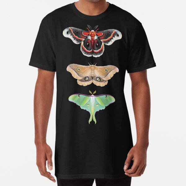 Giant Silk Moth Tier Long T-Shirt