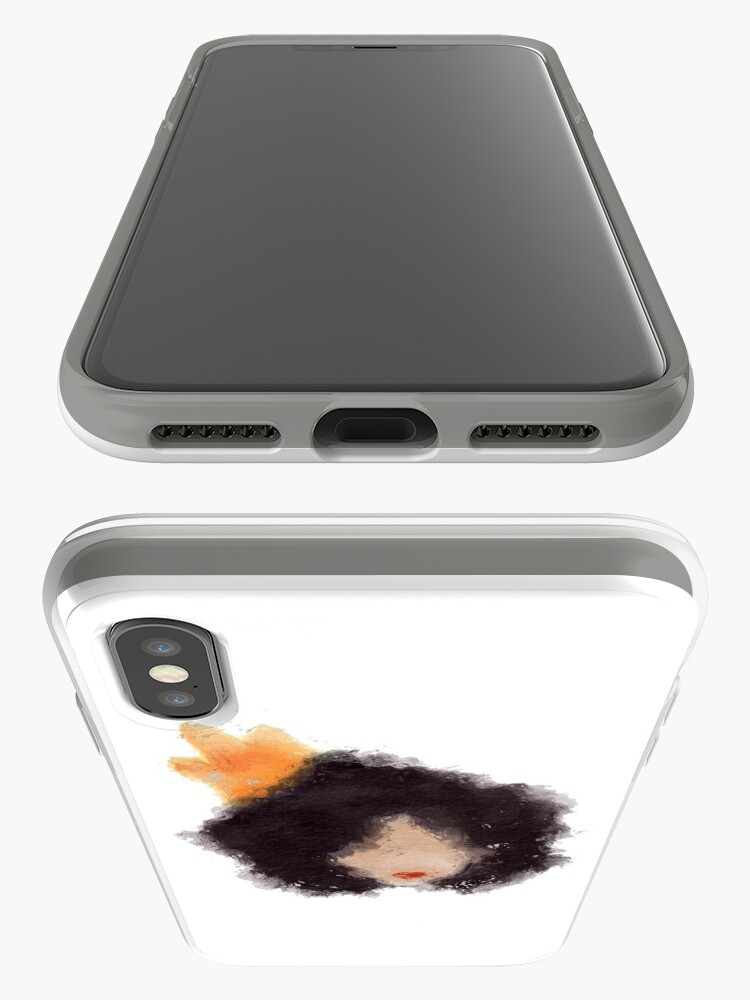 Alternate view of Royal Afro iPhone Case & Cover