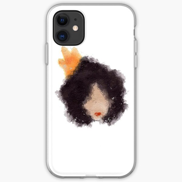 Royal Afro iPhone Soft Case