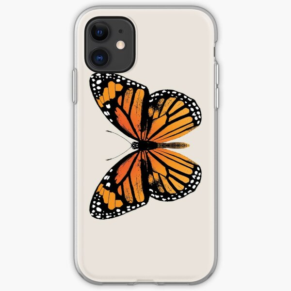 Monarch Butterfly | Vintage Butterflies |  iPhone Soft Case