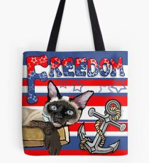Freedom - The Lucky Cat Tote Bag