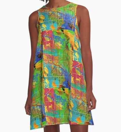 Feed My Ego (Futter Mein Ego) A-Line Dress