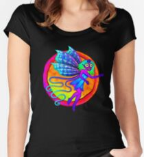 Pixie Flower Fairy Women's Fitted Scoop T-Shirt