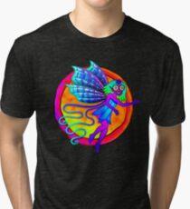 Pixie Flower Fairy Tri-blend T-Shirt
