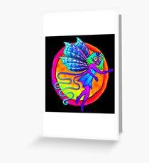 Pixie Flower Fairy Greeting Card