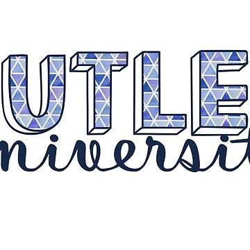 Butler University - Dreiecke Muster von its-anna