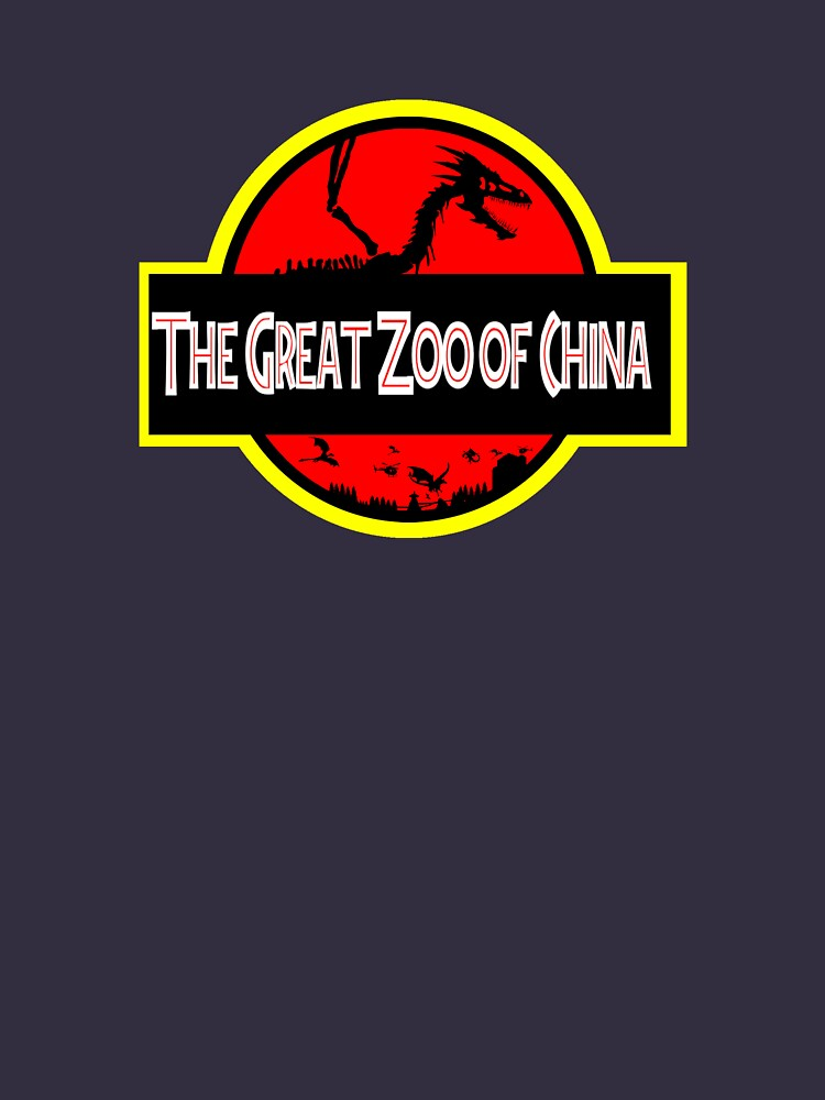 The Great Zoo of China logo(JP Parody) by NeilFinnArt
