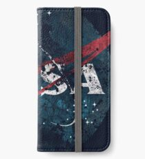 USA Space Agency Vintage Alien Apocalypse iPhone Wallet/Case/Skin