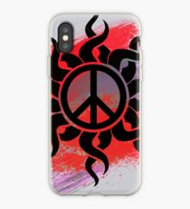 Cool Peace Sign with Paint iPhone Case