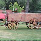 Old Grain Wagon by MaeBelle