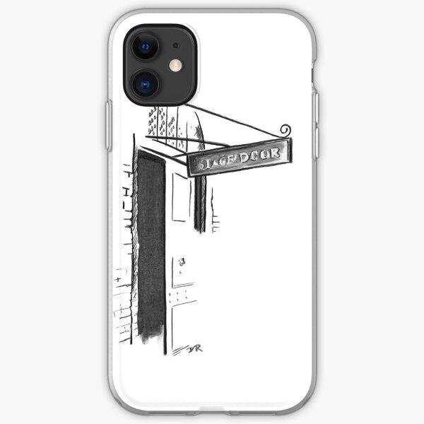 Stage Door London - Theatre Royal Drury Lane iPhone Soft Case