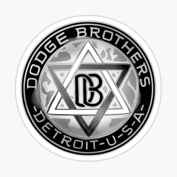 Dodge Brothers Detroit Sticker