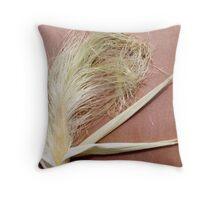 Baby corn on envelope Throw Pillow