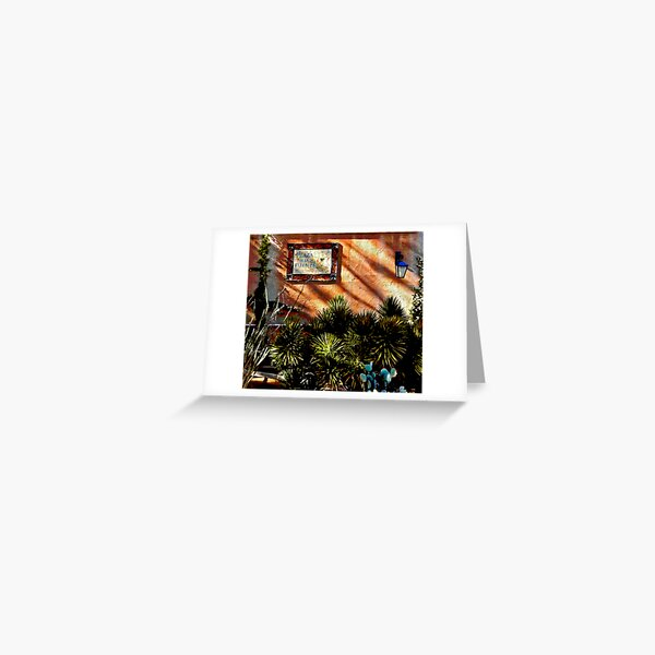 Plaza Fuente Greeting Card
