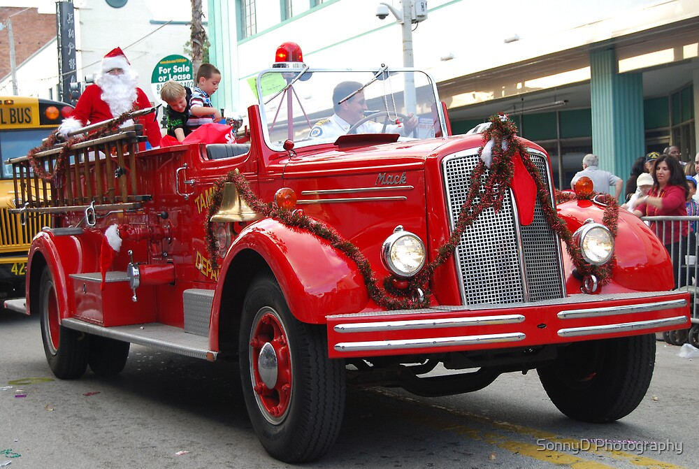 fire truck by SonnyD Photography